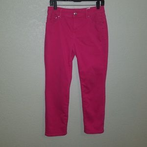 Chico's girlfriend cropped jeans